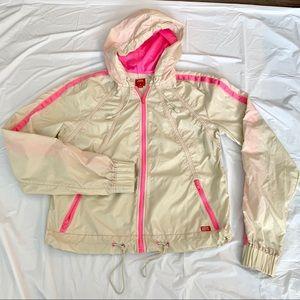 Miss sixty windbreaker jacket rain coat women's